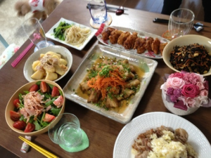 成嶋早穂は料理上手