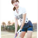 アンシネ(ゴルフ)の彼氏や整形前画像を調査!美脚で性格もかわいい?