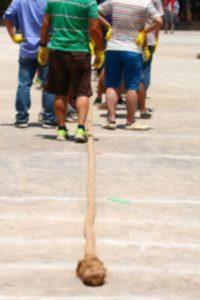 綱引きの並び方や作戦