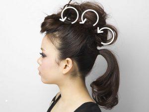 よさこいの髪型を簡単に!はちまきの巻き方やミディアム