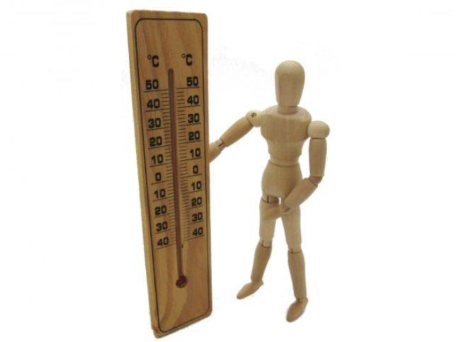 人形 気温