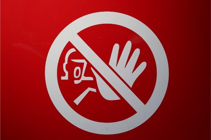 工場見学の禁止事項