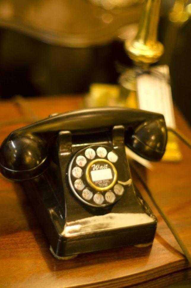 昭和と言えば 黒電話