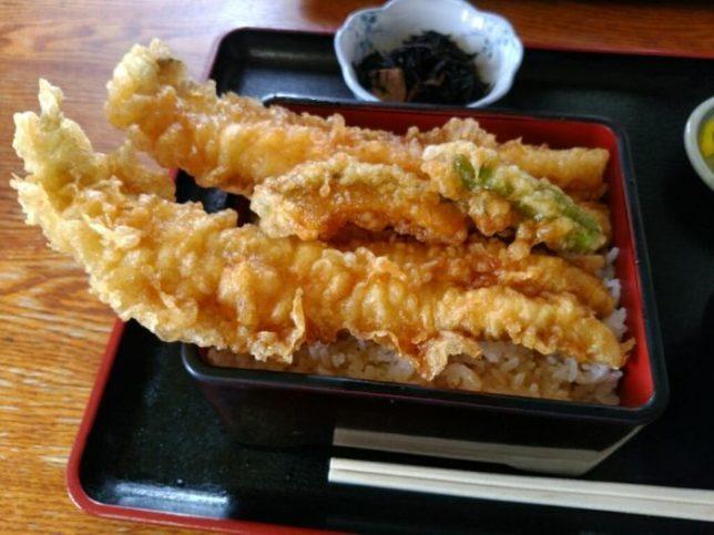 1位:アナゴ丼